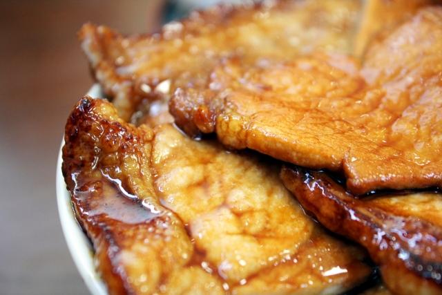 豚きのこ丼