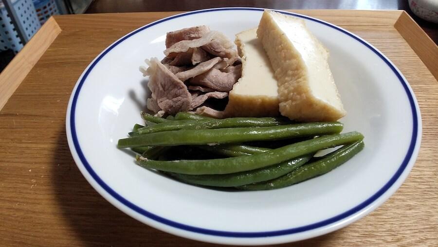 あさイチのいんげんのクタクタ煮を作ってみました【瀬尾幸子さんのレシピ】