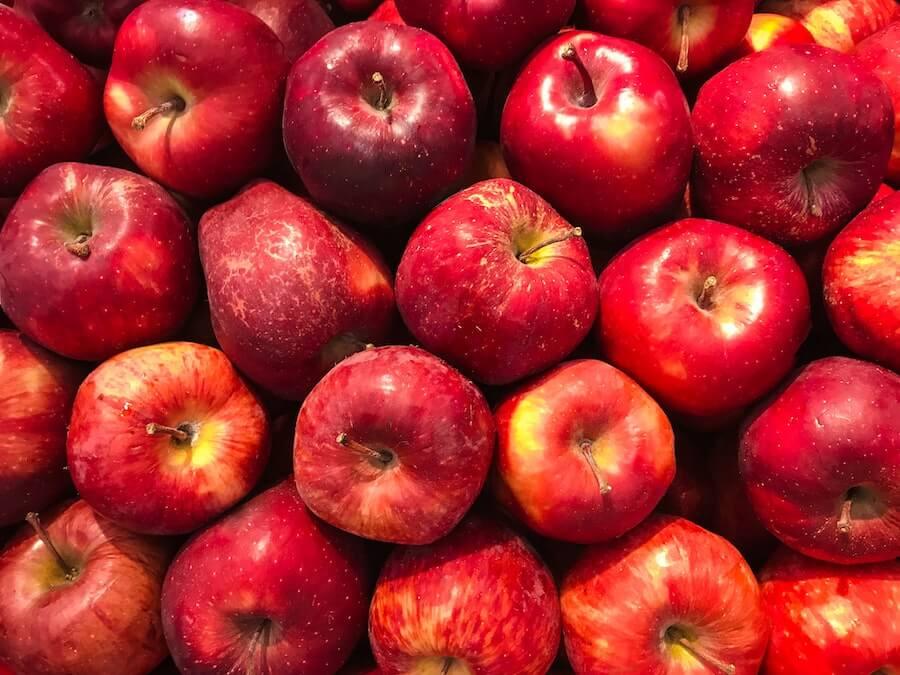 リンゴが太りにくいフルーツ
