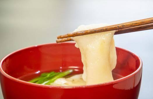 モッツアレラチーズの京風味噌汁